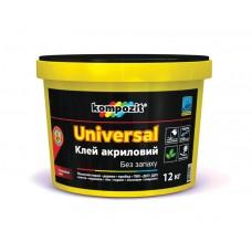 Клей акриловый UNIVERSAL 12кг